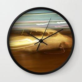 Night Slalom - Lancia Aurelia Wall Clock