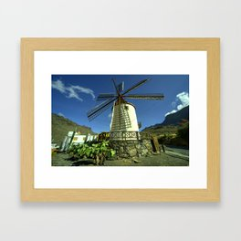 Moulin Tropicale  Framed Art Print