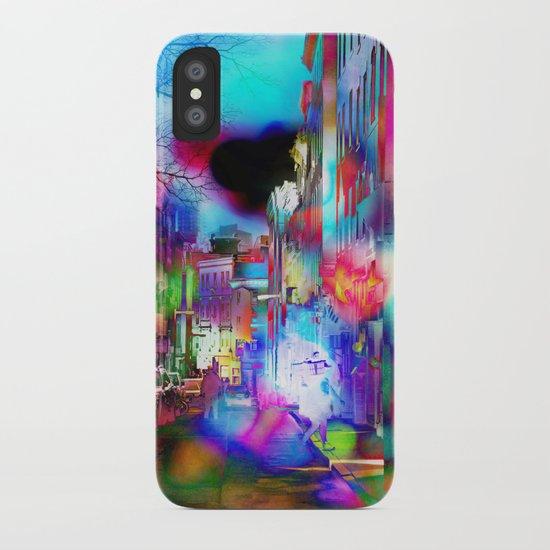 Boston Lights Remix iPhone Case