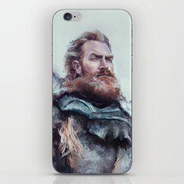 We are kissed by fire. iPhone Skin