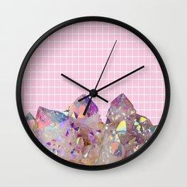 Aura Grid Wall Clock