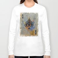 ace Long Sleeve T-shirts featuring Ace by Michael Creese