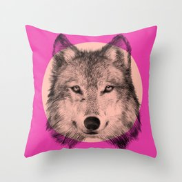 Wild 7 - by Eric Fan and Garima Dhawan Throw Pillow