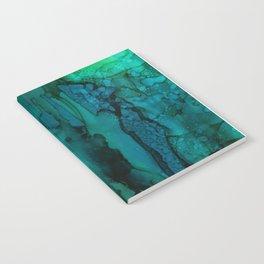 Drifting Underwater Notebook
