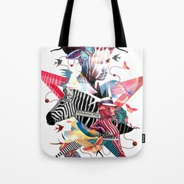 Poter Germany Berlin Platz Animals Lines Freedom Tote Bag