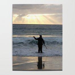 Carmel Fisherman Poster