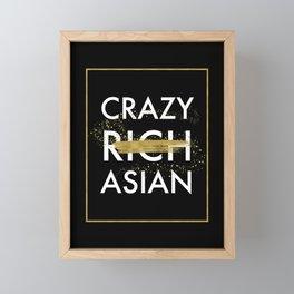 Crazy (Rich) Asian Framed Mini Art Print