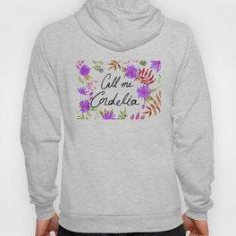 Call Me Cordelia - Purple Flowers Hoody
