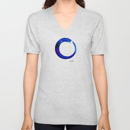 Enso Of Zen No. 21 by Kathy Morton Stanion Unisex V-Neck
