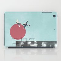 chicken iPad Cases featuring Chicken by Rebecca Perry