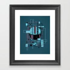 Reticent. Framed Art Print