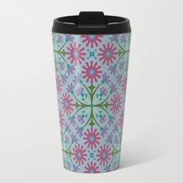 Azulejos, blue Travel Mug