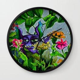 gremflower Wall Clock