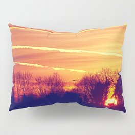 Chasing the Sun Pillow Sham