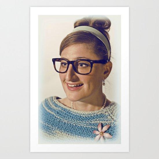 i.am.nerd. :: lauren r. Art Print