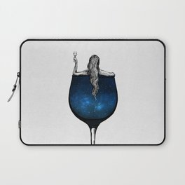 Wine night. Laptop Sleeve