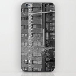 NY warehouse iPhone Skin