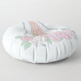 Be Thankful Floor Pillow