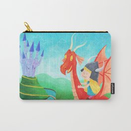 The Girl and The Dragon Carry-All Pouch
