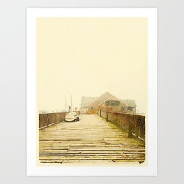 The Pearl; Rockland, Maine Art Print