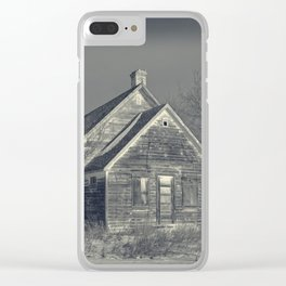 The Old Schoolhouse Clear iPhone Case