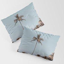 palm trees xvi Pillow Sham
