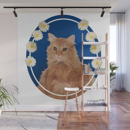 Macho, the Handsome Ginger Wall Mural