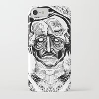 poe iPhone & iPod Cases featuring Poe by Theo Szczepanski