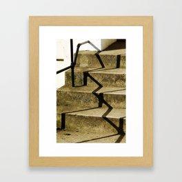 Shodow in Hackney Framed Art Print