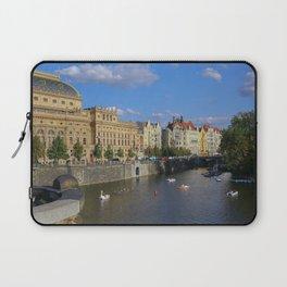 Sunny Day in Prague - View from Legion Bridge Laptop Sleeve