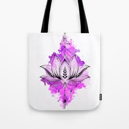 Mother Lotus Tote Bag