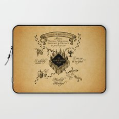 Marauders Map Laptop Sleeve