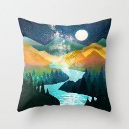 Under the Starlight Throw Pillow