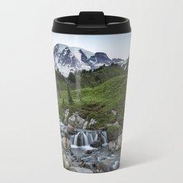 Edith Creek and Mount Rainier Travel Mug