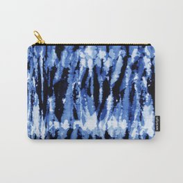 Blue Shibori Z Carry-All Pouch