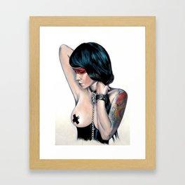 Gravedigger Framed Art Print