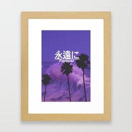forever edit Framed Art Print