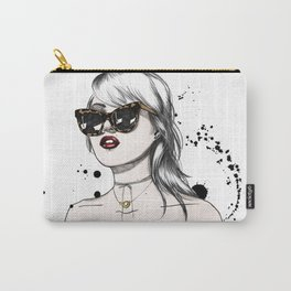 Beauty Illustration Carry-All Pouch
