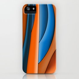Lines Of Stained Glass iPhone Case