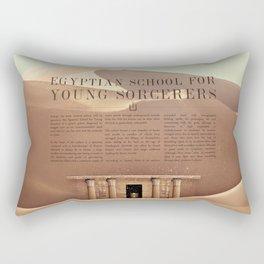 Wizarding Schools Around the World: Egypt Rectangular Pillow