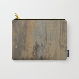 Disgusting Grungy Rusty Wounded Painted Metal Carry-All Pouch