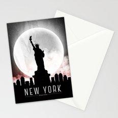 Black-White New York Stationery Cards