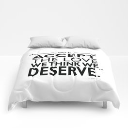 We Accept The Love Comforters