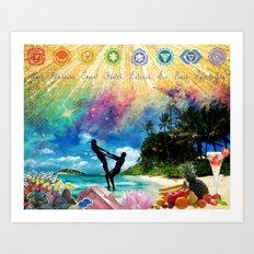 Vision Board Art Print