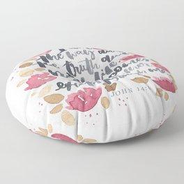 John 14:6 Floor Pillow
