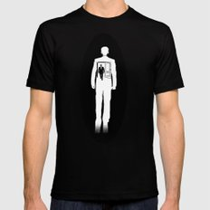 Out of Body Experience Black LARGE Mens Fitted Tee