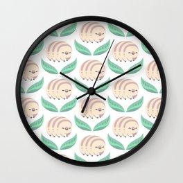 Kawaii tardigrade Wall Clock