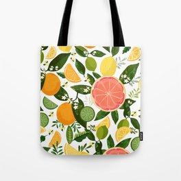 Punch Bowl Pattern Tote Bag