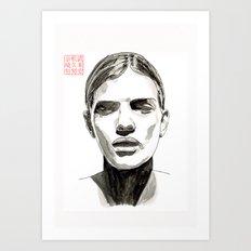 Head #1 Art Print
