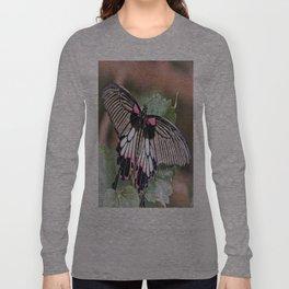 Great Mormon Butterfly Long Sleeve T-shirt
